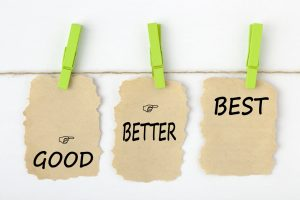 Look at all of your options to determine the best next step for you.